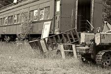 Free Scrap Yard Royalty Free Stock Photography - 972767