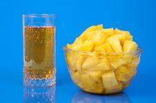 Pineapple Still-life Stock Photography