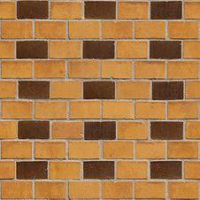 Free Brick Wall 34, Seamless Royalty Free Stock Photos - 973758