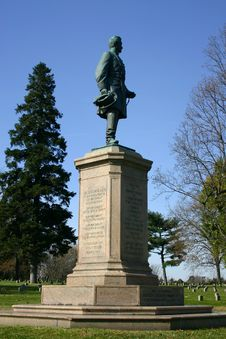 Free Civil War Monument Dedicated To The Pennsylvania Volunteer Infantry Stock Images - 974814
