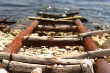 Free The Way Of The Boat Royalty Free Stock Photo - 975025