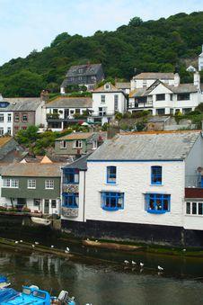 Cornish Fishing Village Royalty Free Stock Image