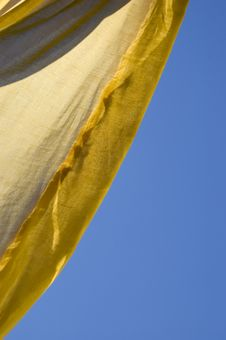 Free Yellow Tent Stock Image - 977601