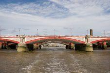 Free Blackfriars Bridge, London Royalty Free Stock Images - 977649