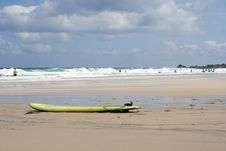 Free Surfboard And English Beach Stock Photography - 977692