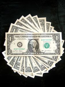 Free Full Of American Money Dollar Royalty Free Stock Photos - 978138