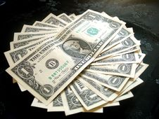 Free Full Of American Money Dollar Royalty Free Stock Images - 978139