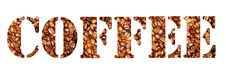 Free Coffee Letters Royalty Free Stock Photos - 978818
