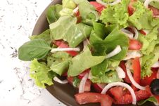 Free Fresh Salad And Tomato Stock Photos - 979963