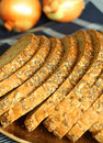 Free Baked Bread With Sunflower Stock Image - 9702251