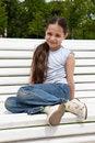 Free White Bench Royalty Free Stock Photo - 9704885