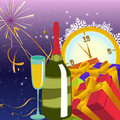 Free New Year Background Royalty Free Stock Photo - 9704965