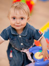 Free Baby With A Toy Stock Images - 9708534