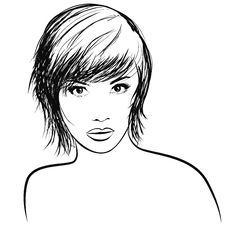 Free Very Pretty Girl With Nice Haircut Stock Photo - 9700380