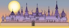 Free Bangkok Royal Palace Royalty Free Stock Photography - 9700407