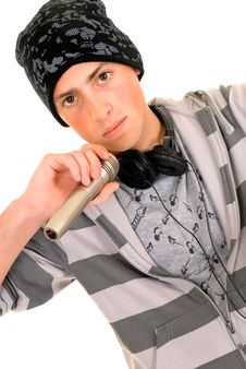 Free Handsome Hip Hop Youngster Royalty Free Stock Photography - 9701637