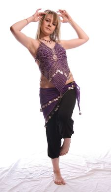 Free Indian Dance Stock Image - 9702031