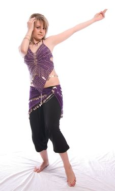Free Indian Dance Royalty Free Stock Photos - 9702438