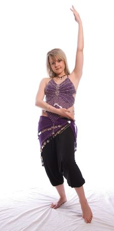 Free Indian Dance Royalty Free Stock Photo - 9702465