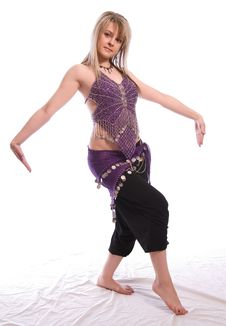 Free Indian Dance Stock Photography - 9702632