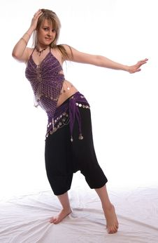 Free Indian Dance Royalty Free Stock Photos - 9702638