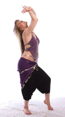 Free Indian Dance Royalty Free Stock Photography - 9702667