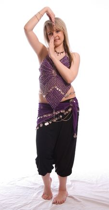 Free Indian Dance Royalty Free Stock Image - 9702686