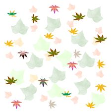 Free Autumn Leaf Pattern Stock Photo - 9703110