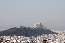 Free Lycabettus Hill, Athens Royalty Free Stock Photo - 9703445