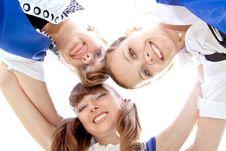 Free Three Funny Graduates Stock Images - 9703464
