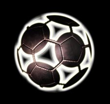 Free African Football Black Royalty Free Stock Images - 9703789