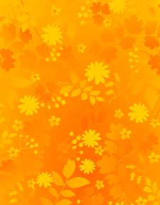 Free Floral Background Royalty Free Stock Photography - 9703817