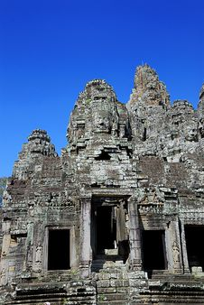 Free Bayon Temple Series 05 Royalty Free Stock Photos - 9705078