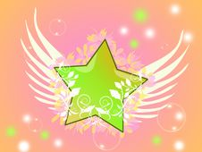 Free Gentle Star Royalty Free Stock Photos - 9705298
