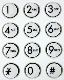 Free Buttons Stock Image - 9705321