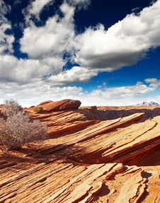 Free Rock Formations At Glen Canyon Stock Photos - 9705503