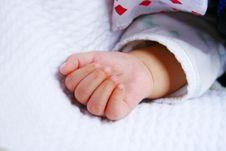 Free Baby Hand Stock Photos - 9705663