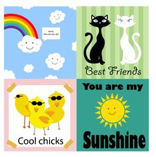 Free Sticker Royalty Free Stock Photo - 9705675