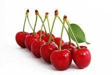 Free The Ripe Sweet Cherries.Lesdership Royalty Free Stock Photo - 9706295