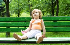 Free Portrait Of The Littel Girl Royalty Free Stock Photos - 9706658