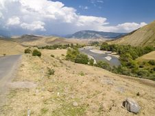 Free Mountain Path - Georgia Stock Images - 9706774