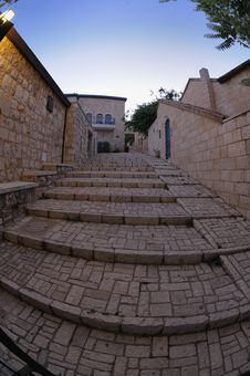 Free Staircase Of The Old Town Stock Photo - 9706850