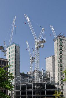 Free Construction At London. Stock Photos - 9706983
