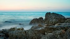 Free Stones And Black Sea Royalty Free Stock Image - 9708336