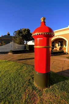 Free Old Post Box Stock Image - 9709121