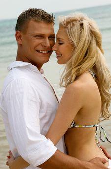 Free Playful Couple Royalty Free Stock Image - 9709226