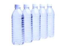 Free Water Bottle On White Stock Images - 9709344