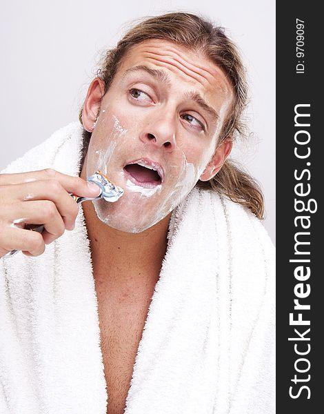 Time for shaving
