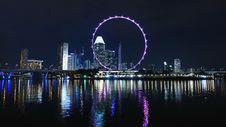 Free Reflection, Cityscape, Skyline, Ferris Wheel Stock Photos - 97089063
