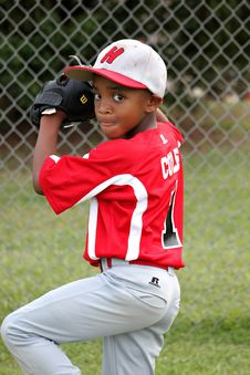 Free Baseball Player, Red, Team Sport, Baseball Positions Stock Photos - 97091283